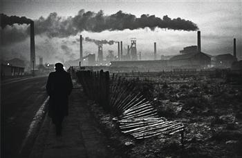Don McCullin - 'Early morning, West Hartlepool, County Durham, U.K.,'  1963