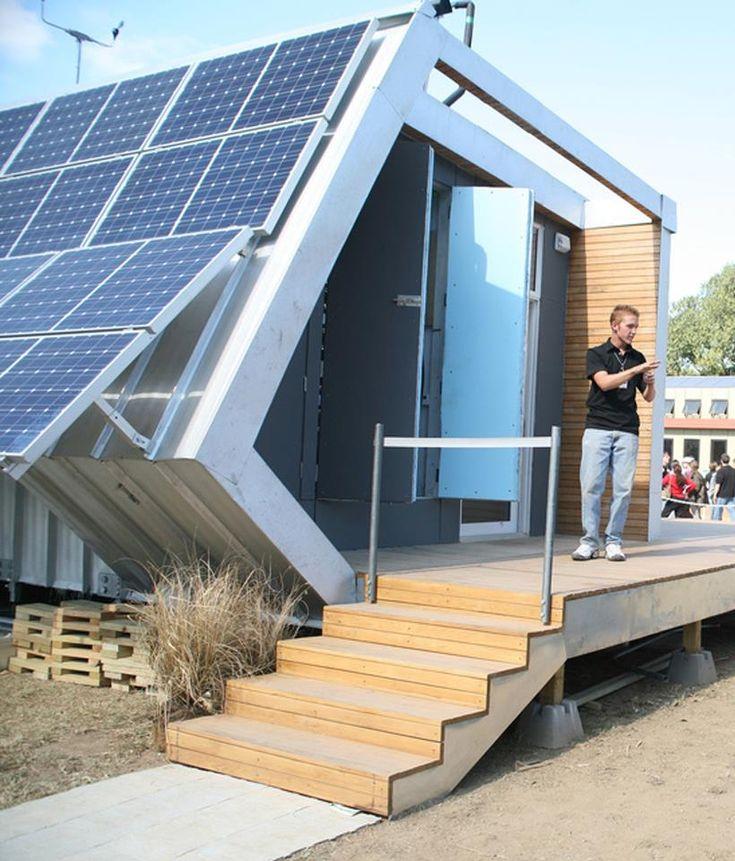 Casa enteramente funcional con energ a solar energ a for Kansas solar installers