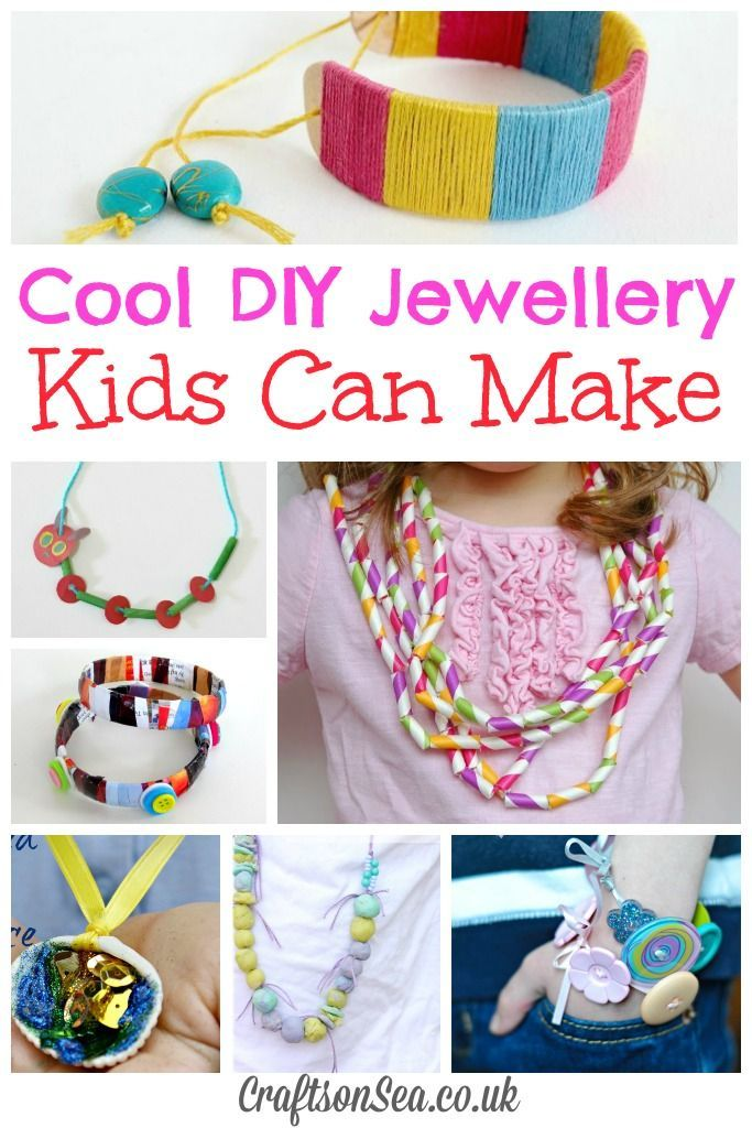 DIY Jewellery for Kids: Tuesday Tutorials - Crafts on Sea