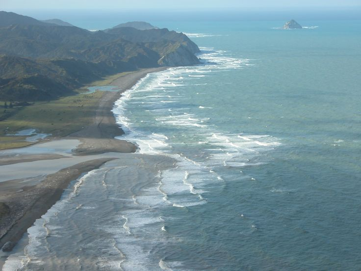 Mouth of the Waiapu River, Rangitukia, NZ