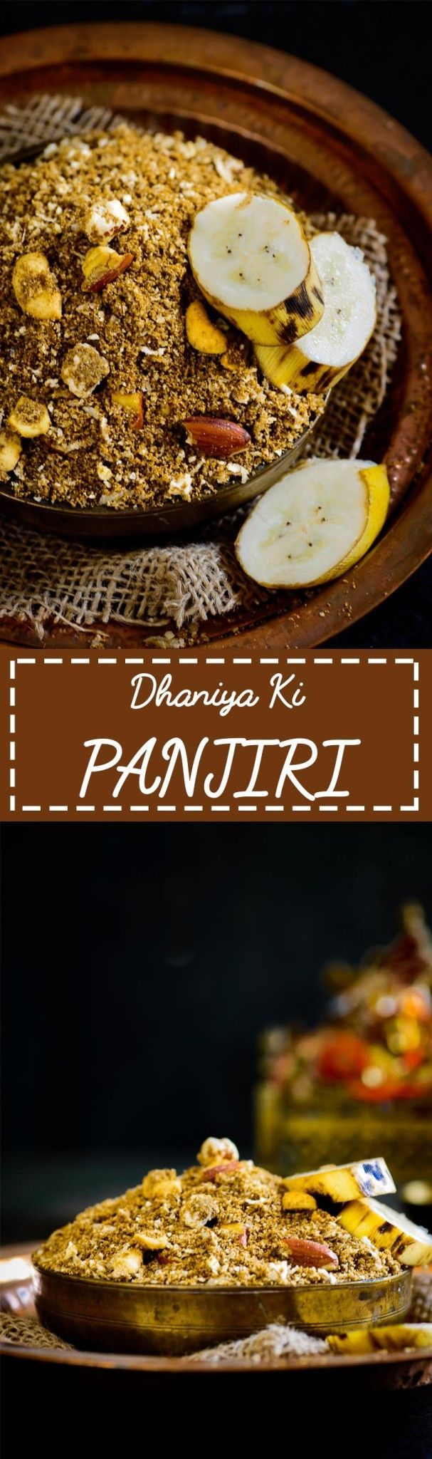 Dhaniya Panjiri is a falahari dish especially made for Krishna Janamashtami as Prashad. Here is how to make this delicious Dhaniya Ki Panjiri. #Indian #Sweet #Fasting #Vrat