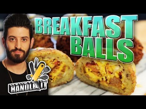 Breakfast Balls - Epic Meal Time Handle It - YouTube