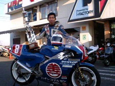 五百部徳雄 全日本GP500 winner
