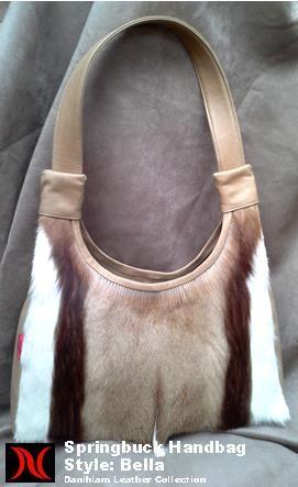 Springbuck Handbag Danihiam Leather Collection www.dlcleather.co.za info@dlcleather.co.za #danihiam