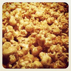 La Popoteuse: Maïs soufflé au caramel