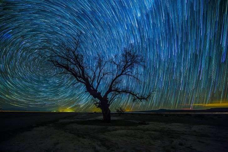 Timelapse photography of star gazing in the Atacama desert, Chile.