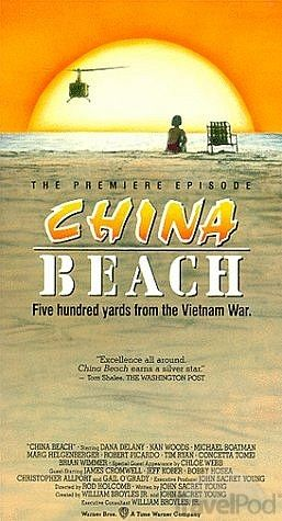 """ABC""""China Beach"""" (1988-1991) Drama Created:  William Broyles Jr. / John Sacret Young Starring: Dana Delany  China Beach is an American dramatic television series set at an evacuation hospital during the Vietnam War. The title refers to My Khe beach in the city of Đà Nẵng, Vietnam, which was nicknamed """"China Beach"""" in English by American and Australian soldiers during the Vietnam War."""