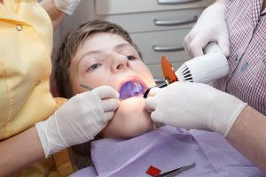 Although not a common procedure in years past, today's parents are encouraged to have their children's #molars sealed upon eruption to prevent #toothdecay . #dentalsealants are a clear, easy-to-apply material that seals the biting surfaces of the molars in order to prevent bacteria or debris from getting stuck in the uneven surfaces of the teeth, leading to tooth decay. In most cases, dentists will recommend that sealants be applied shortly after a child's molars have erupted. This means ...