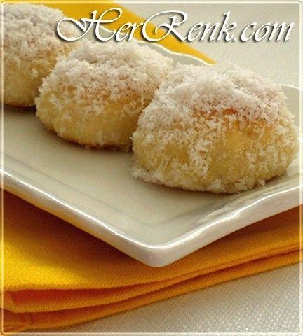 Elmalı Toppare Tatlısı-elmalı bonbon kurabiye tarifleri ...