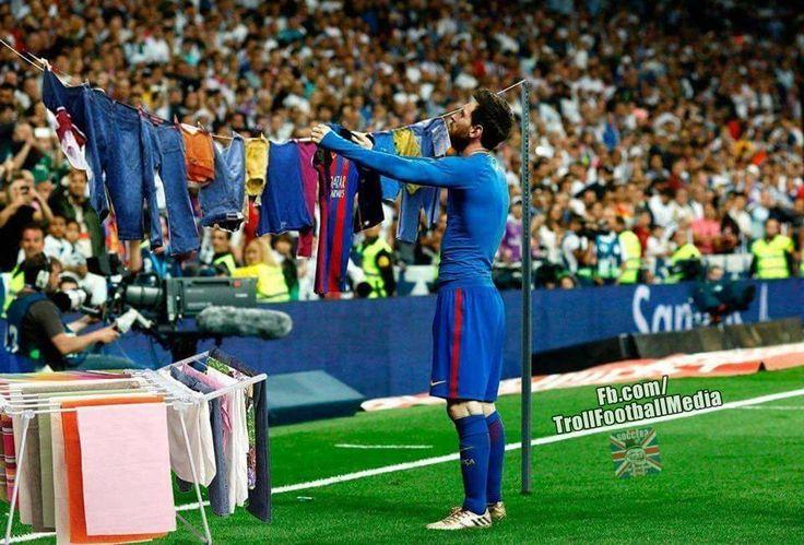 Haha Xd Messi Real Madrid And Barcelona Messi Vs Ronaldo