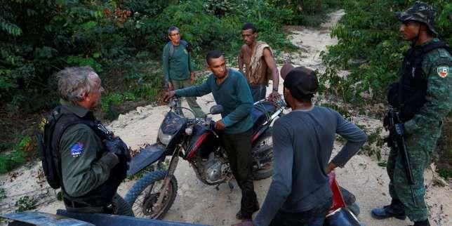 Au Brésil, avec les policiers qui luttent contre la déforestation de l'Amazonie