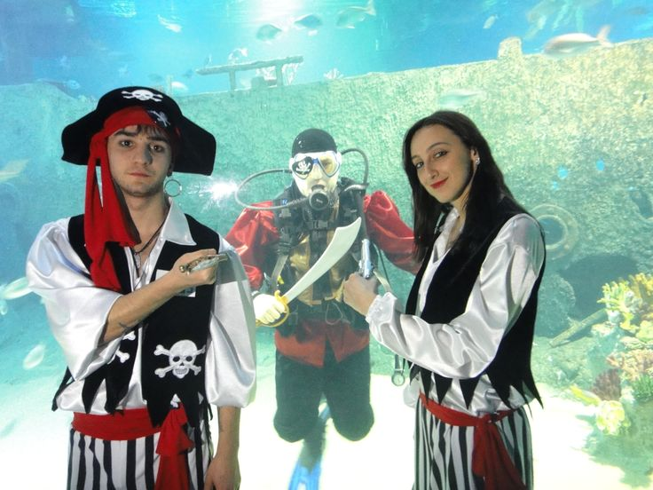 Pirates @Turkuazoo Akvaryum Aquarium
