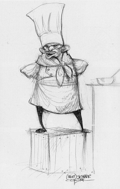: Ratatouille : Character Design, Carter Goodrich
