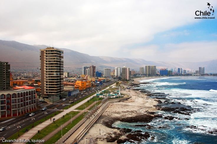 Cavancha Beach, Iquique, #Chile