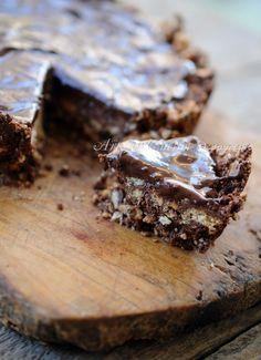 Torta di biscotti al cioccolato senza forno vickyart arte in cucina