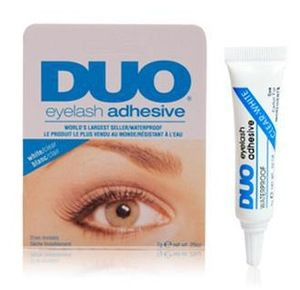 DUO eyelash white glue remover allergy prone DUO eyelash glue ( white glue )