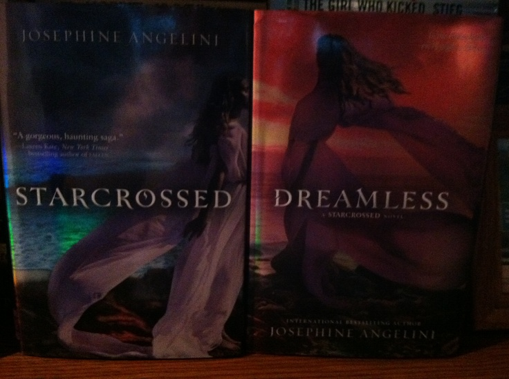 The Starcrossed series - waiting for the third and final book to be written!