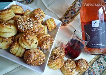 Pagáčiky len tak k vínečku II (fotorecept) - Recept