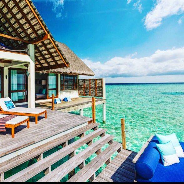 Se mai farò una luna di miele sarà in questo posto  #paradise #maldivesislands #fourseasonsresort #villa #dream #allornothing by claudia10890