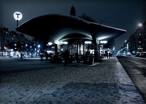 Nadzemní stanice metra Odenplan