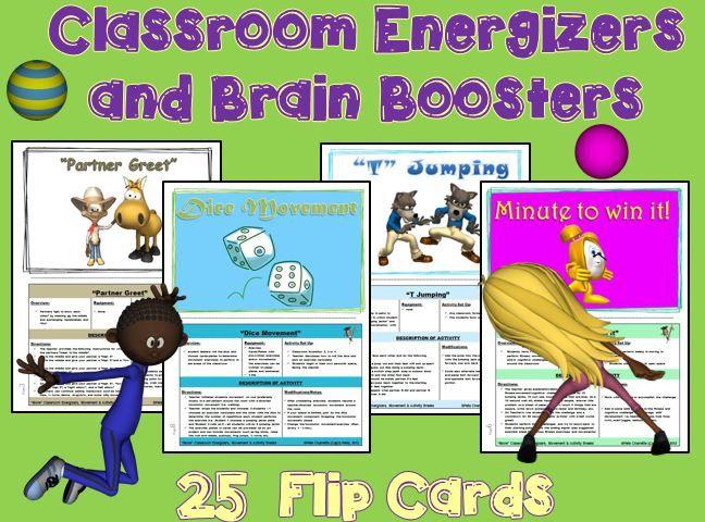 Classroom Energizer Ideas ~ Best images about cap n pete s classroom movement tpt