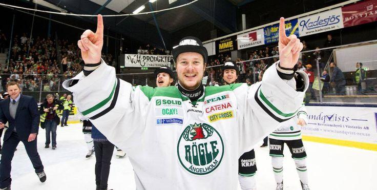 Lars Volden after Rögle rise to SHL