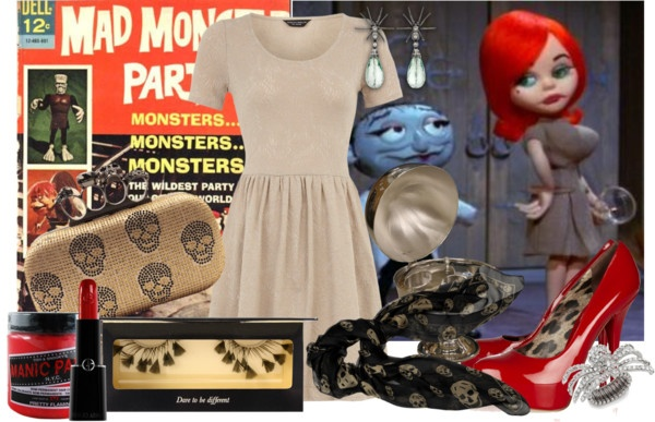 """Halloween Outfit Inspiration - Francesca"" by lazymazei on Polyvore"