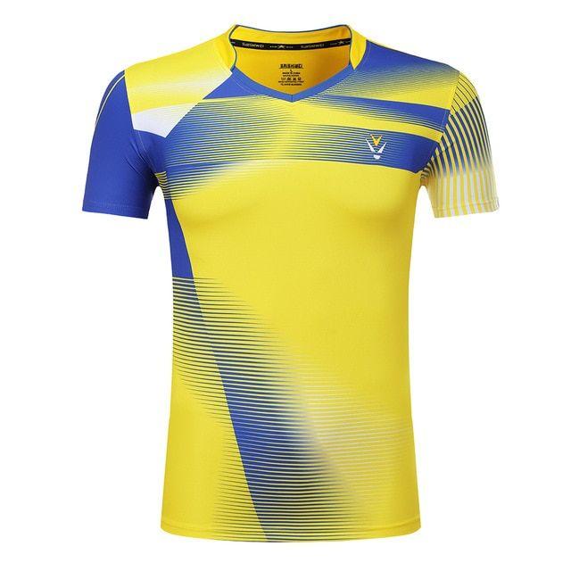 Nueva Badminton camisa de Deportes de secado rápido, tenis