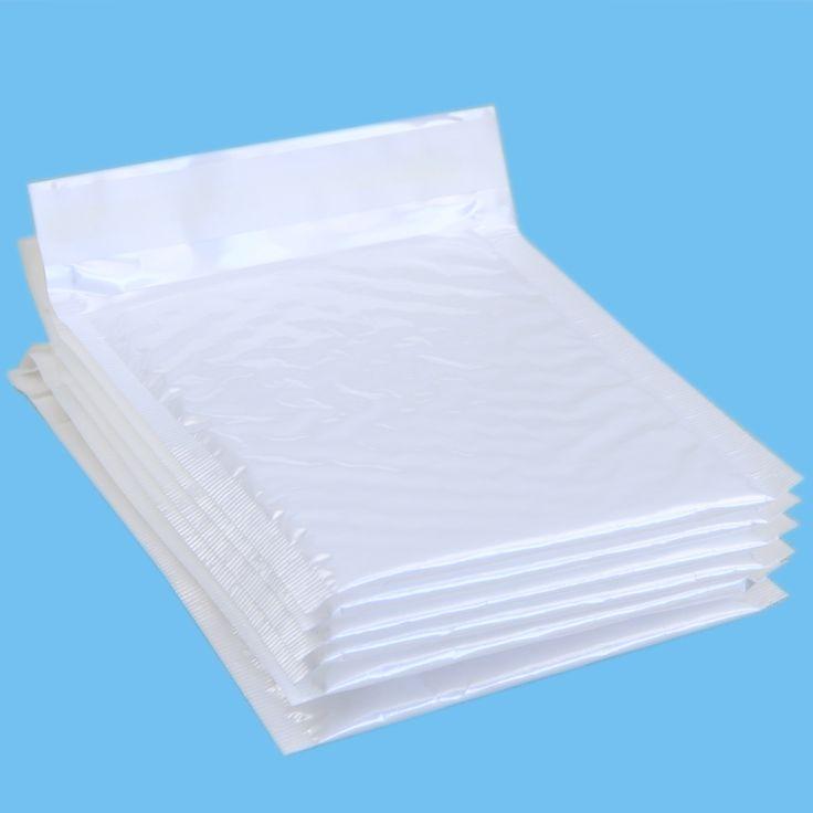 10 قطعة/الحزمة ، 140*160 ملليمتر ماء أبيض اللؤلؤ فيلم فقاعة المغلف البريدي أكياس