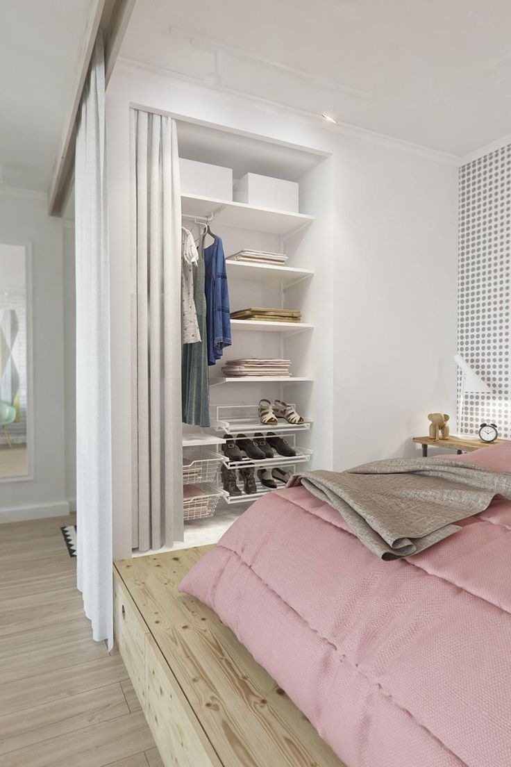 1112 best small rooms images on Pinterest | Small bedrooms, Small ...
