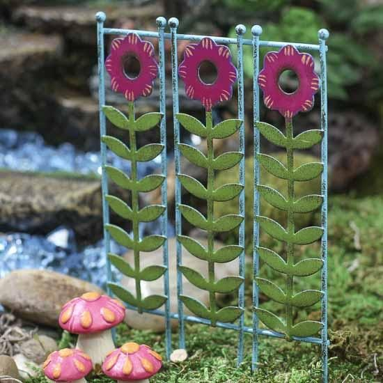 Miniature Fairy Garden Privacy Screen - Fairy Garden Miniatures -