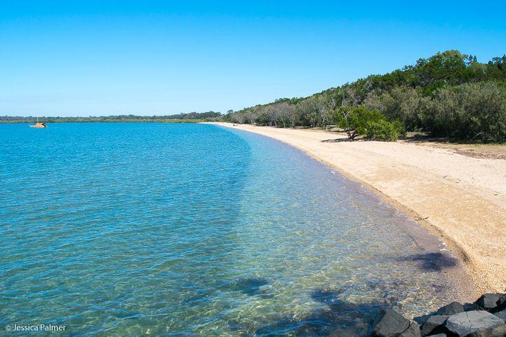 Urangan Beach, Hervey Bay (near the marina rockwall)  Click the image above for reasons to consider Hervey Bay for your next family getaway