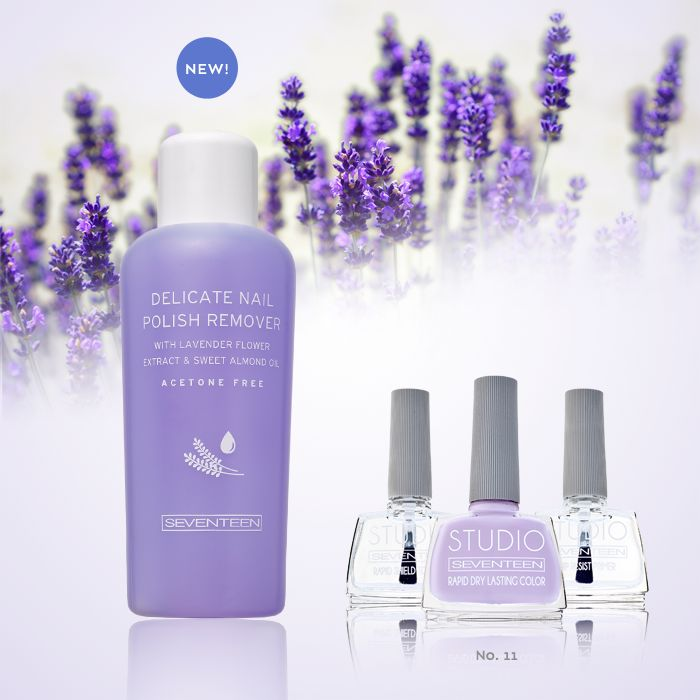 Nail Polish Remover | Seventeen Cosmetics Here comes our New Polish Remover,aceton free that treats and nourishes nails!!! #SeventeenCosmetics #nails #manicure