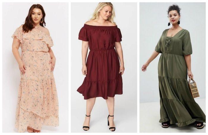 Mollige kleider für Günstige Damenkleider