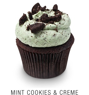 Mint Cookies and Creme Cupcake from Georgetown Cupcake - possibly the greatest cupcake ever created