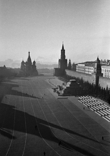 Red Square, Moscow, 10 Sep 1941 by Anatoly Garanin