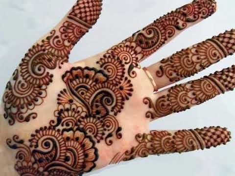 latest Beautiful wedding mehndi designs for hands