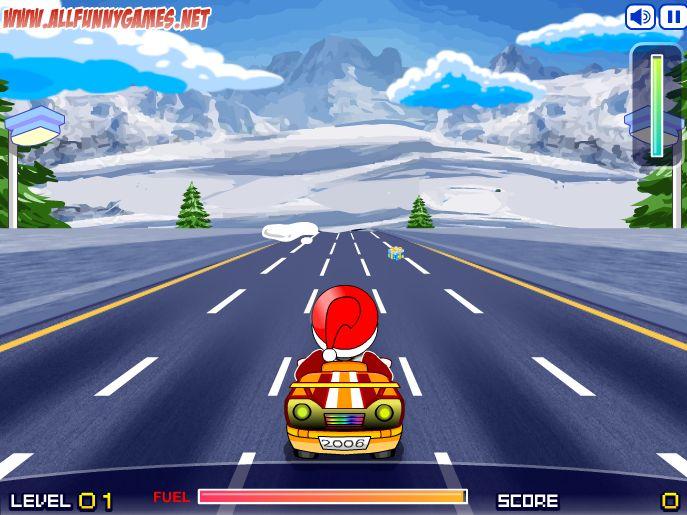 Racen met de Kerstman