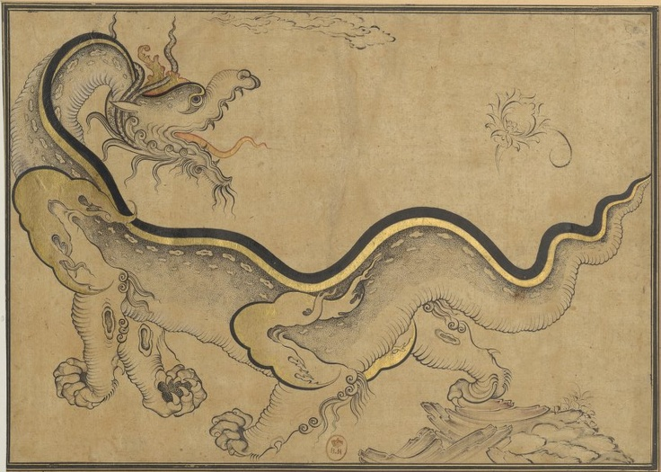 Peinture orientale, XVIIè siècle, BNF