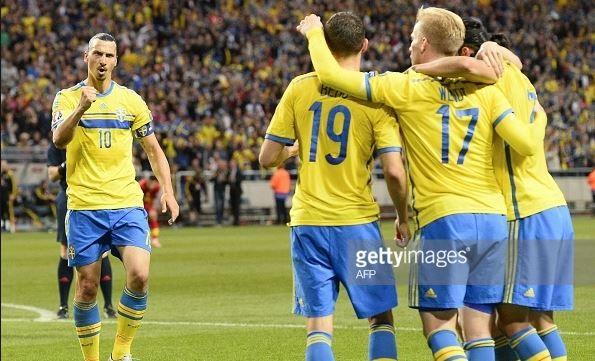 Sweden vs Montenegro 3-1 14/06/2015 – Highlights & Full Match | EC Qualification EURO France 2016