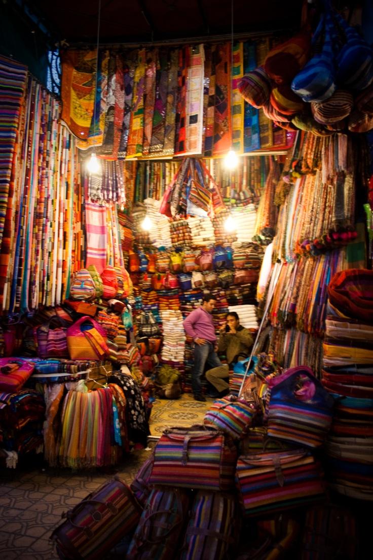Marakesh, Morocco.....the medina was incredible: agreed!