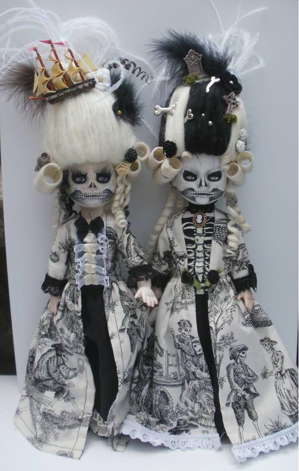 living dead doll custom marie antoinette by Rach-Hells-Dollhaus on DeviantArt
