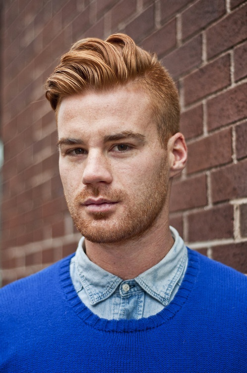 Best Haircuts For Male Redheads : Best images about gingers on ginger man