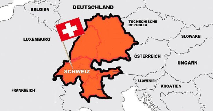 Großmachtfantasien beim kleinen Nachbarn: Schweiz will sich deutsche Bundesländer einverleiben.