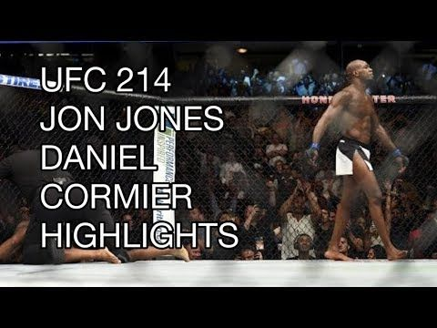 UFC 214 Full Fight 2017 Highlights: Jon Jones vs Daniel Cormier 2; calls out Brock Lesnar - YouTube