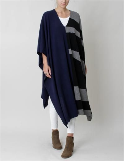 Elise Poncho Cashmere by Creatures of Comfort