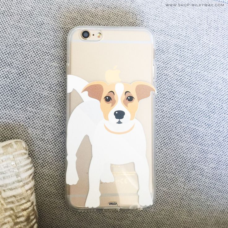 Jack Russell Terrier - Clear TPU Case Cover – Milkyway  #RePin by Dostinja - WTF IS FASHION featuring my thoughts, inspirations & personal style -> http://www.wtfisfashion.com/