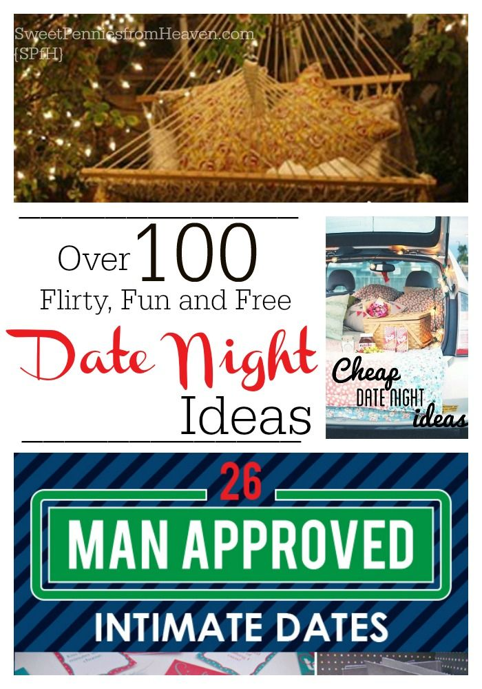 If you're looking for new date night ideas, look no further. Whether you're wanting some fun or flirty ideas, some man-approved ideas or even awesome anniversay date ideas...we've got you covered.