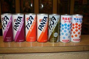 あのころの - 昭和の缶ジュースのデザインwwwwwww
