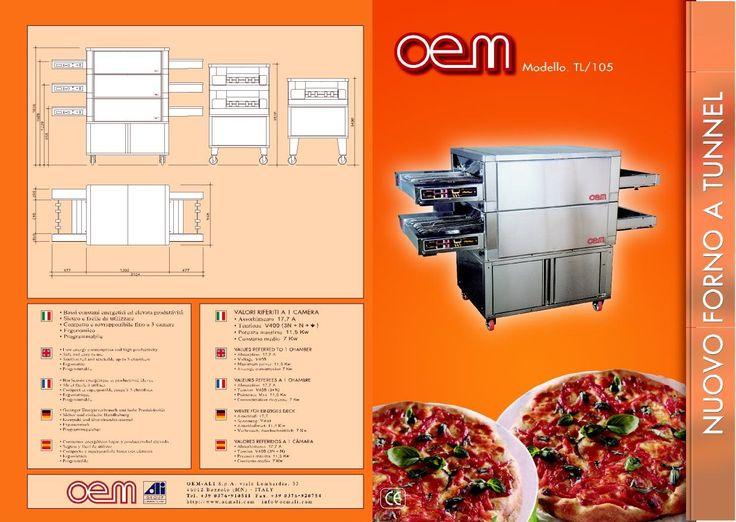OEM - Tunnel Oven TL/105 www.oemali.com
